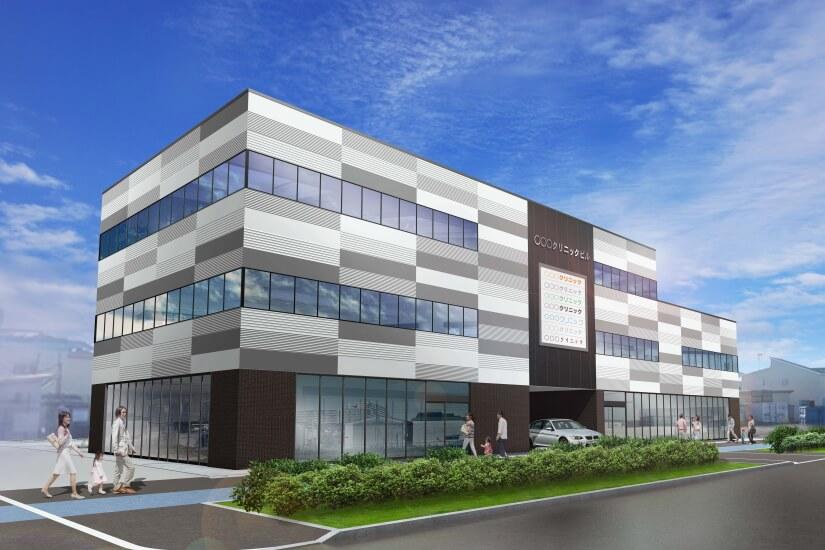 医療ビル・医療モールの開発運営|地域医療の拠点を総合プロデュース
