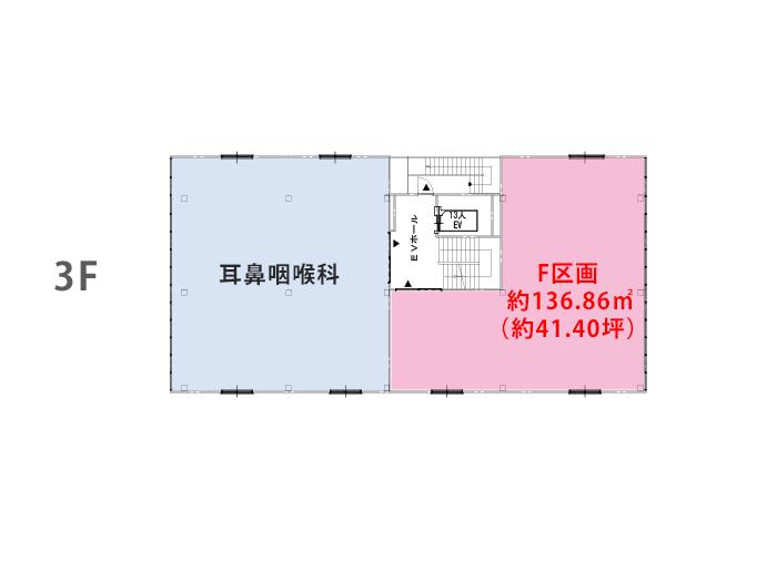 寺田町クリニックビル区画図