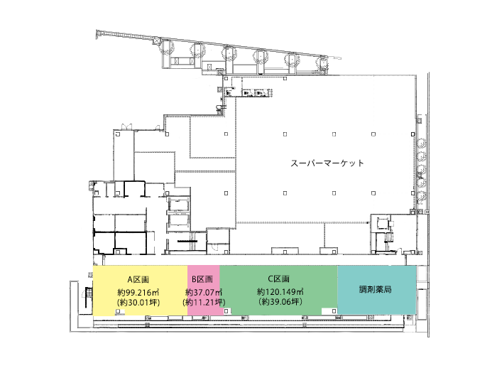 JR摩耶駅NKビル区画図