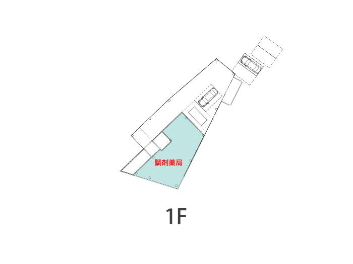 鉄炮町クリニックビル区画図1